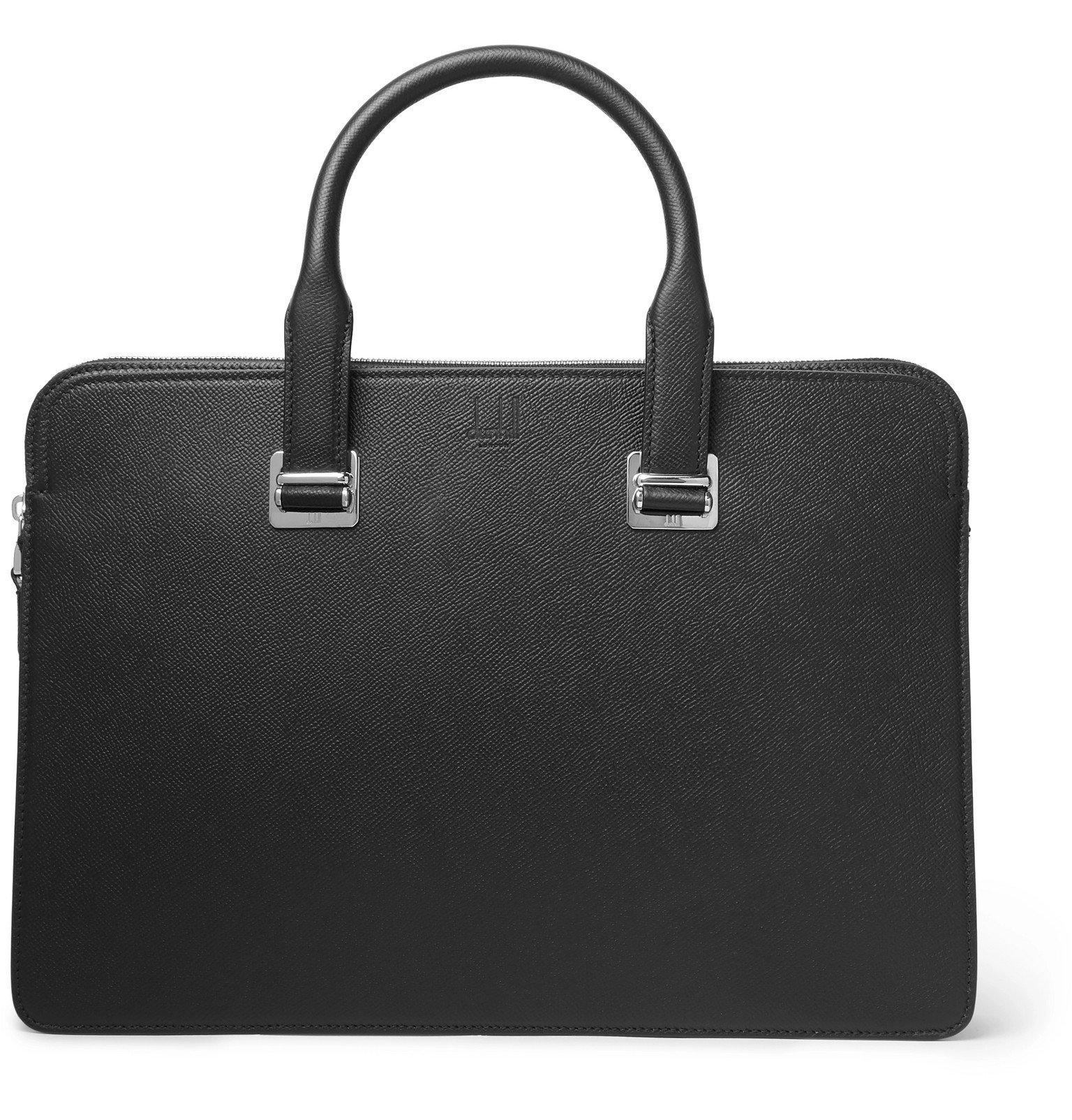 Dunhill - Cadogan Full-Grain Leather Briefcase - Black