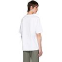 Acne Studios White Summer Solstice T-Shirt