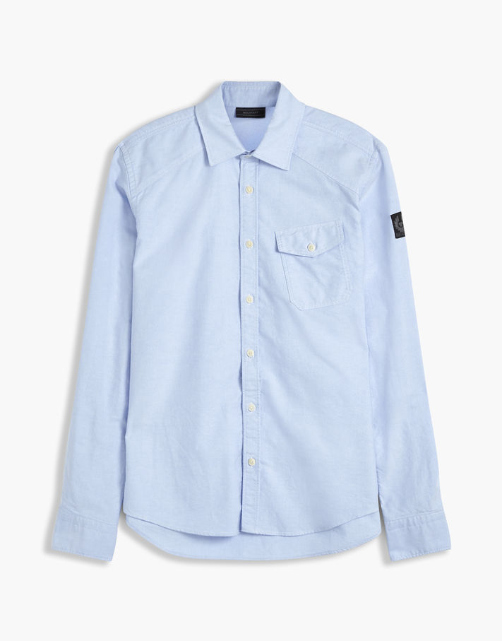Belstaff Steadway Oxford Shirt White