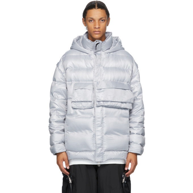 Photo: JERIH Silver Down Puffer Jacket