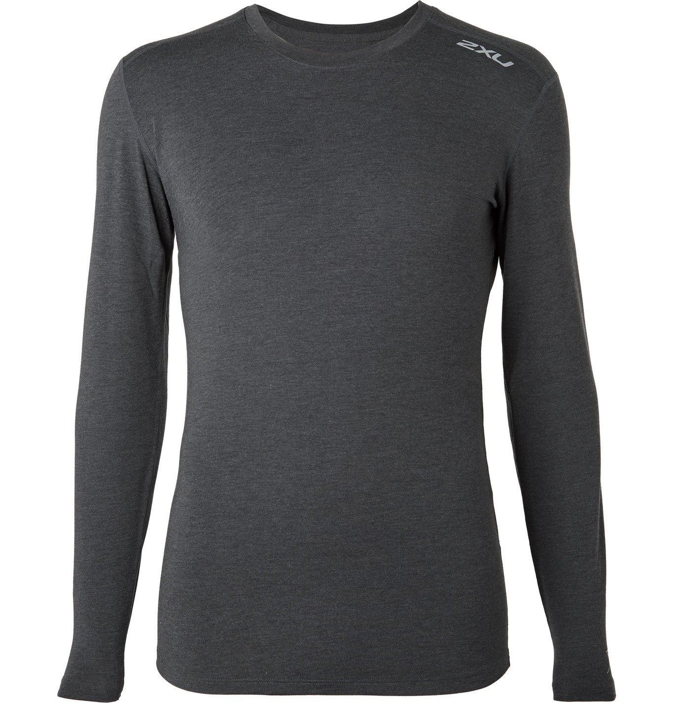 Photo: 2XU - HEAT Mélange BIO-HEAT X Base Layer - Black
