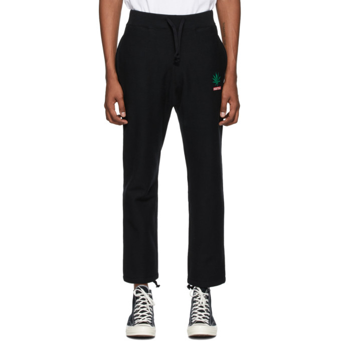 Photo: Wacko Maria Black High Times Edition Heavyweight Lounge Pants