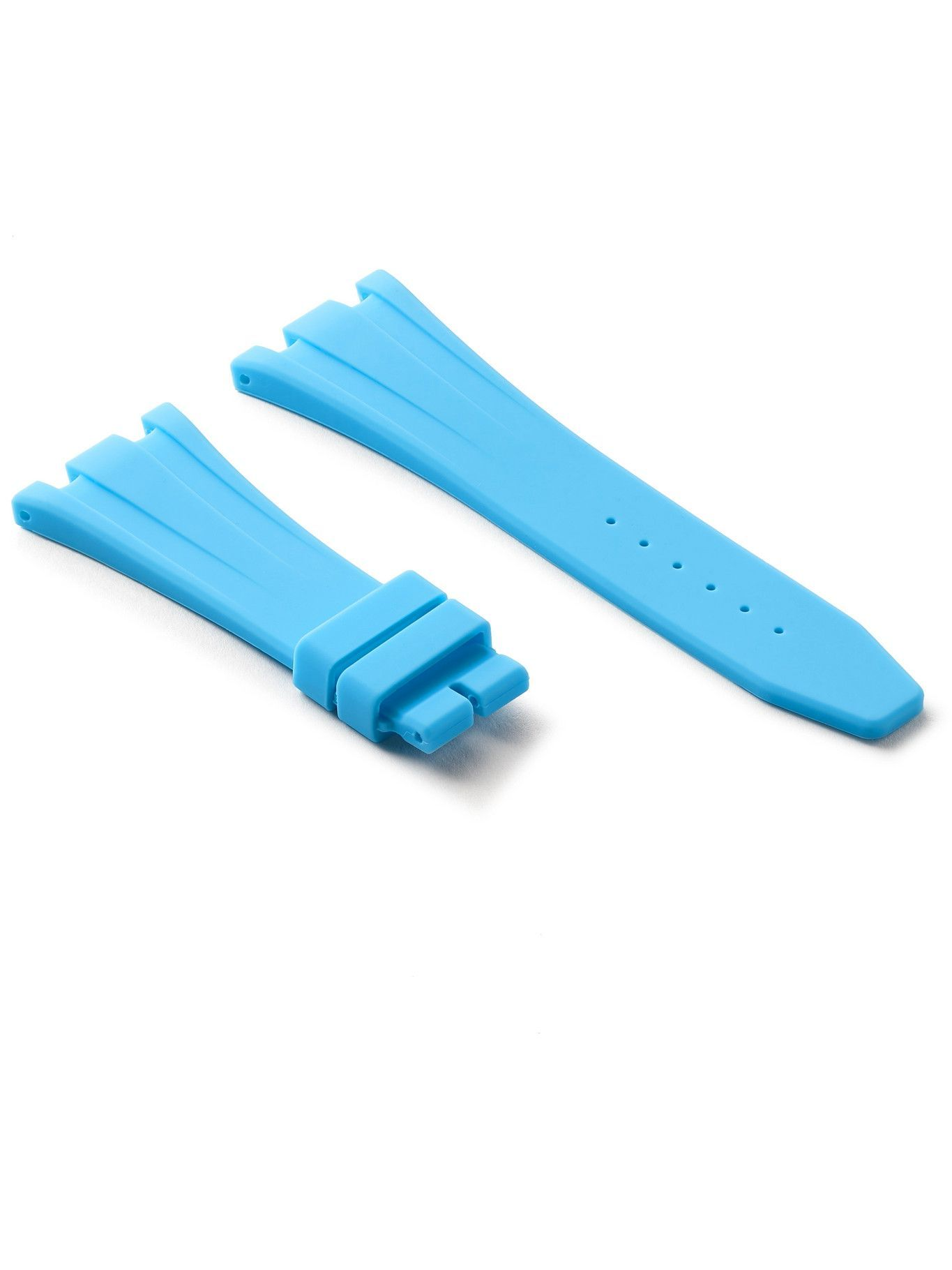 Photo: Horus Watch Straps - 20mm Rubber Integrated Watch Strap - Blue