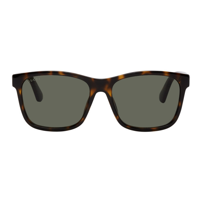 Photo: Gucci Tortoiseshell Square Sunglasses