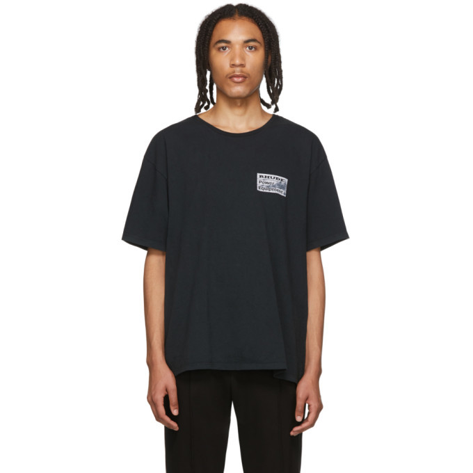 Photo: Rhude Black Power Equipment T-Shirt