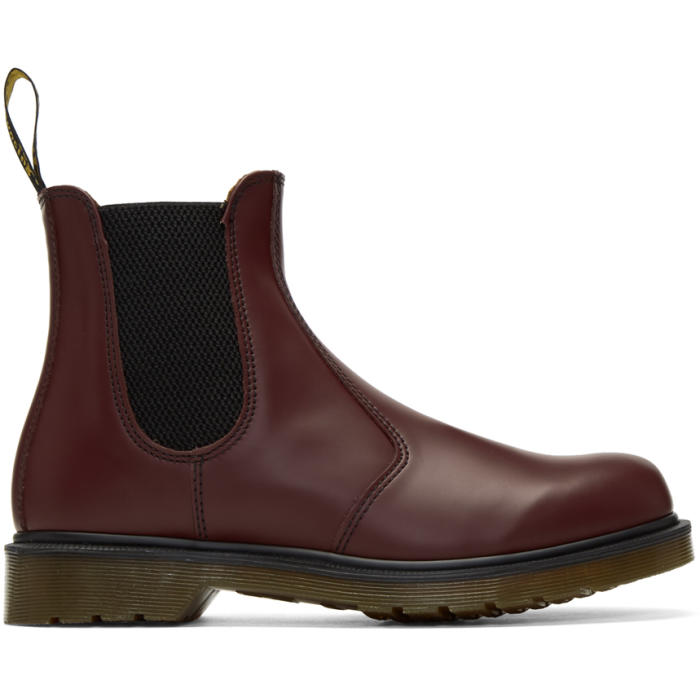 Photo: Dr. Martens Red 2976 Chelsea Boots