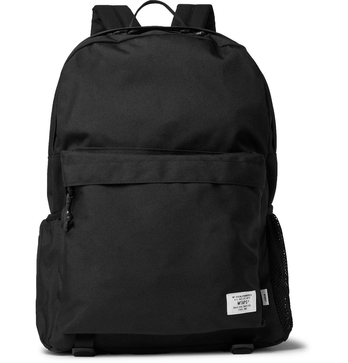 Photo: WTAPS - CORDURA Backpack - Black