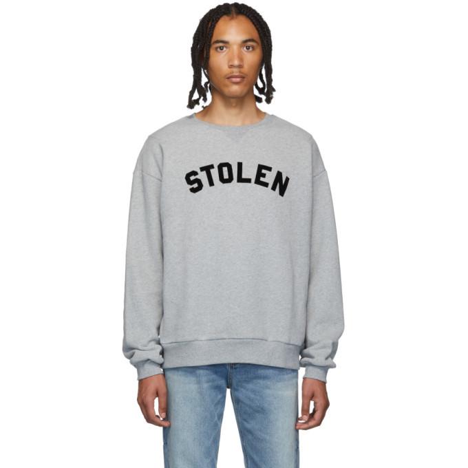Photo: Stolen Girlfriends Club Grey Gun Club Sweatshirt