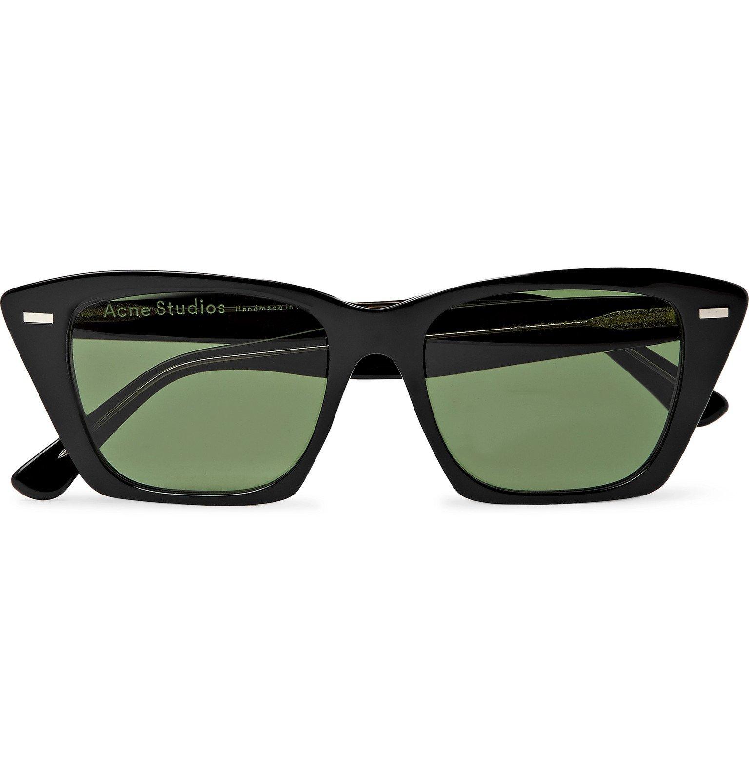 Photo: Acne Studios - Ingridh D-Frame Acetate Sunglasses - Black