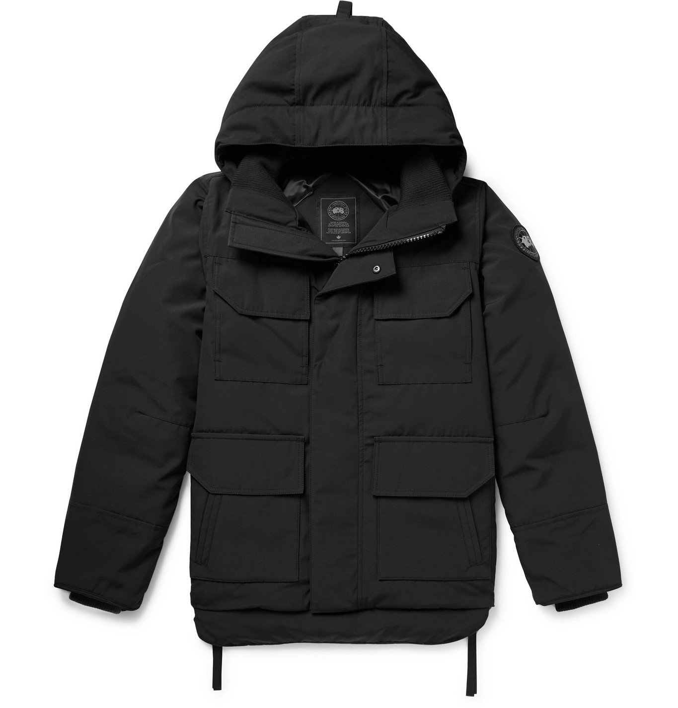 Photo: Canada Goose - Maitland Arctic Tech Hooded Down Parka - Black