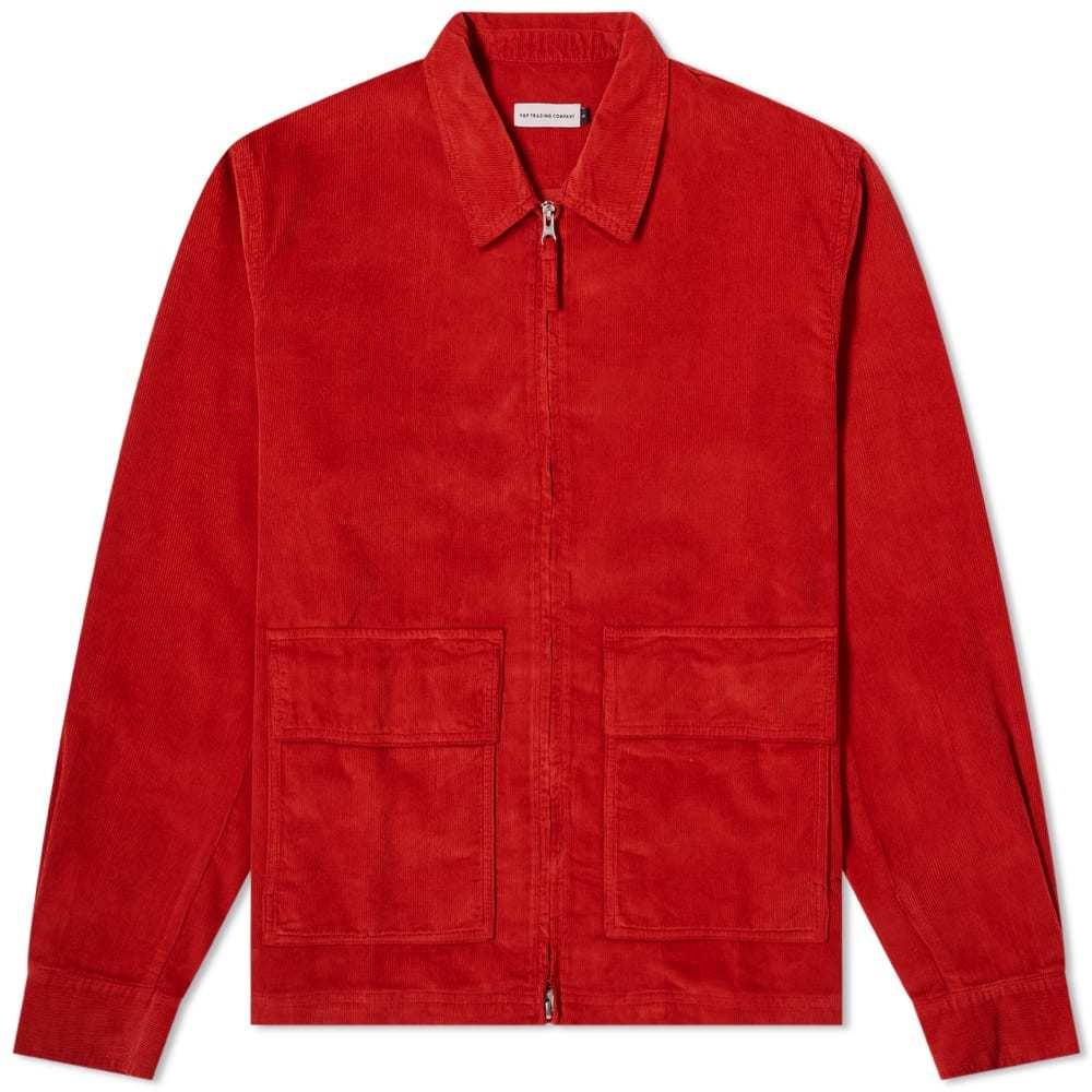 Photo: Pop Trading Company Full Zip Cord Jacket