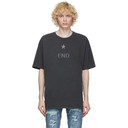 Ksubi Grey Washed Reign T-Shirt