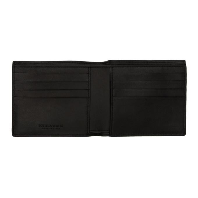 Bottega Veneta Black Intrecciato Wallet