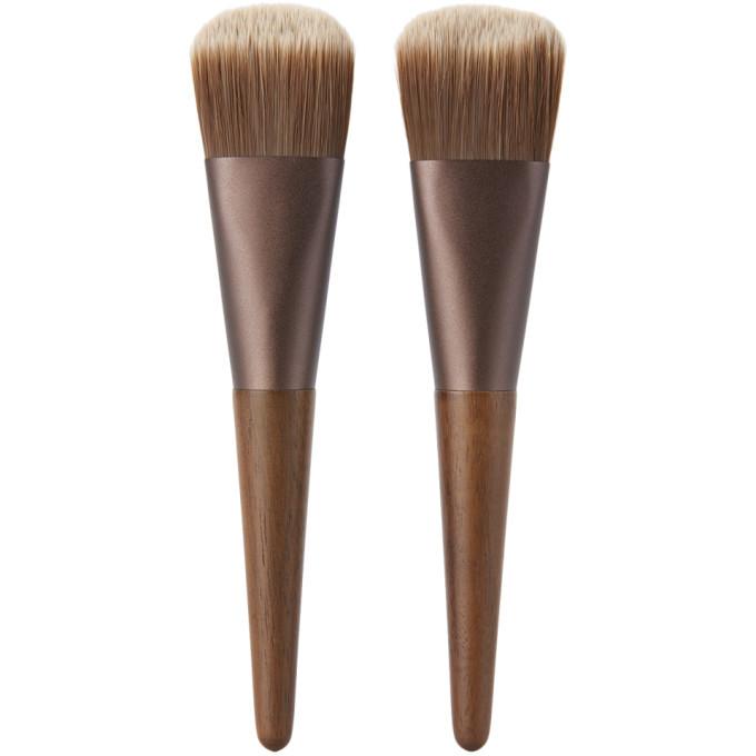 Photo: Shaquda Walnut Naderu Face Brush Set