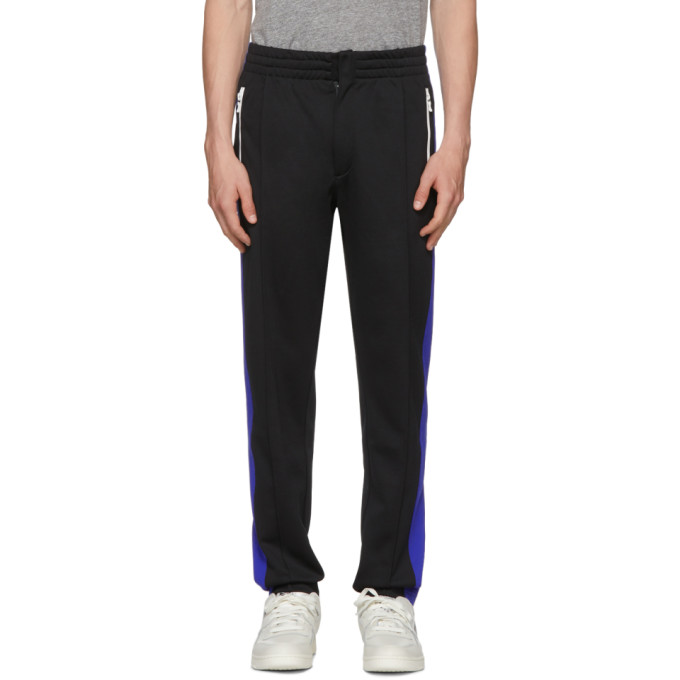 Photo: Rag and Bone Black Colorblock Track Pants
