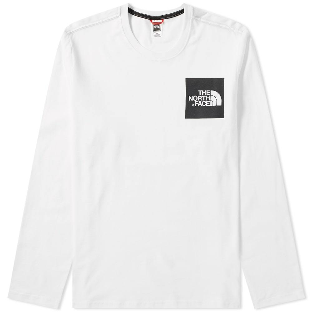 Photo: The North Face Long Sleeve Fine Tee White