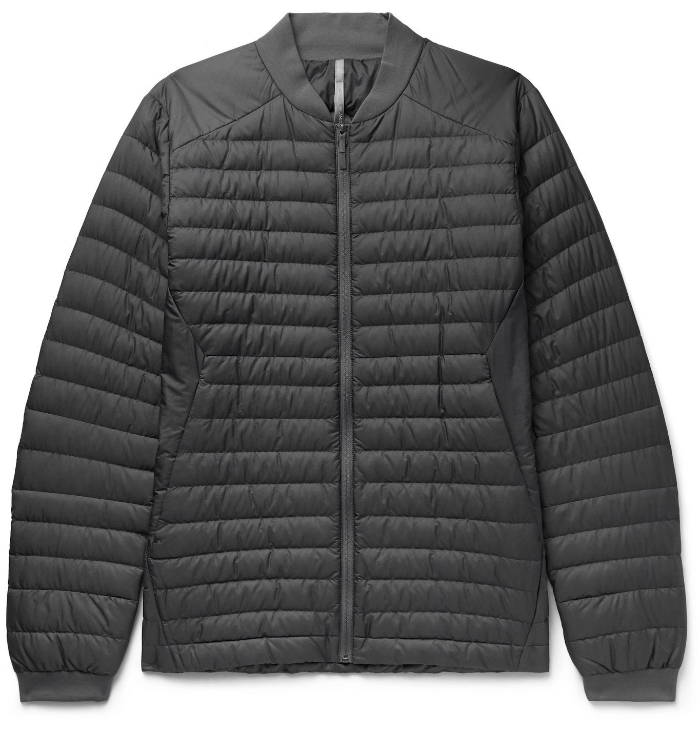 Photo: Veilance - Conduit LT Slim-Fit Quilted Nylon-Ripstop Down Jacket - Gray