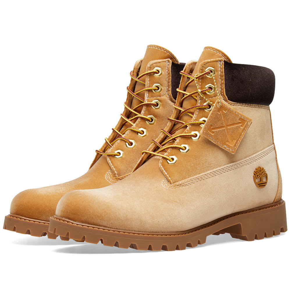 Photo: Off-White x Timberland Boot Neutrals