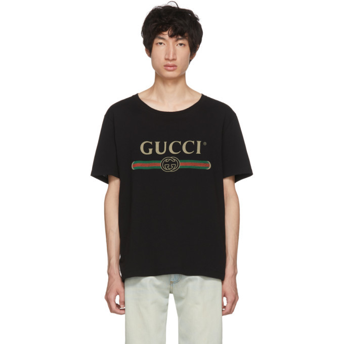 Photo: Gucci Black Logo T-Shirt