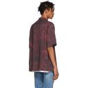 Ksubi Red and Black Resort Scribbles Shirt