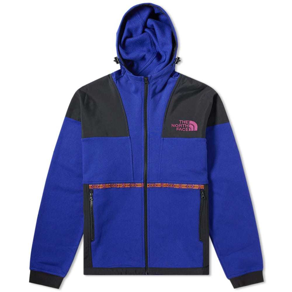 Photo: The North Face 92 Rage Fleece Hoody Aztec Blue Rage Combo