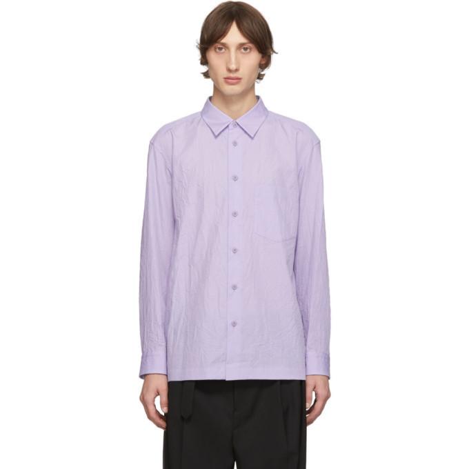 Photo: Issey Miyake Men Purple Crush Shirt