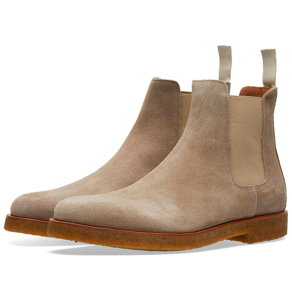Photo: Common Projects Chelsea Boot Waxed Suede