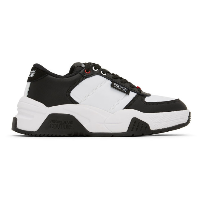 Photo: Versace Jeans Couture White and Black Fire1 Sneakers