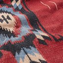 RRL - Shawl-Collar Cotton, Linen and Silk-Blend Jacquard Cardigan - Men - Red