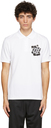 Raf Simons White Fred Perry Edition Chest Patch Polo