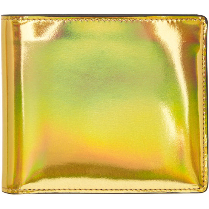 Photo: Maison Margiela Gold and Silver Bicolor Wallet