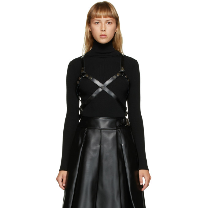 Photo: Junya Watanabe Black Leather Harness
