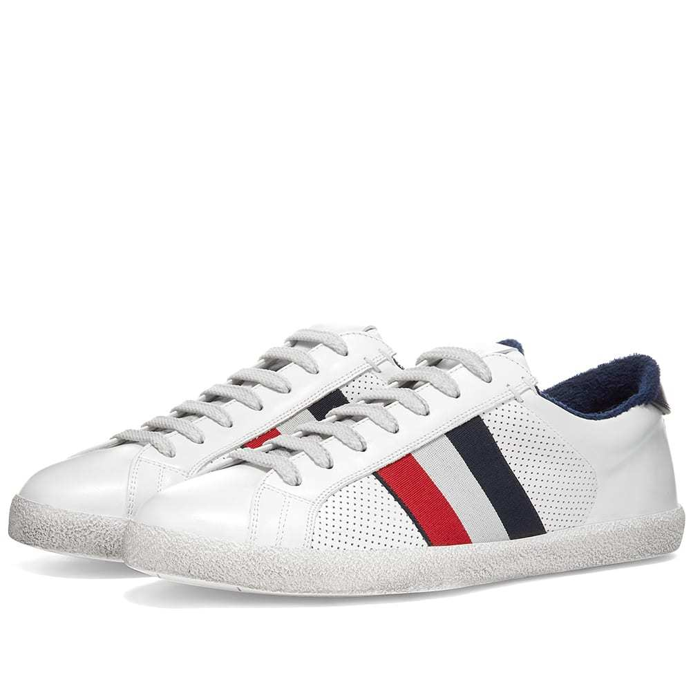 Photo: Moncler Tricolour Stripe Sneaker