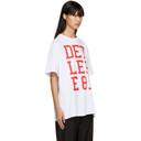 Raf Simons White Detlef T-Shirt