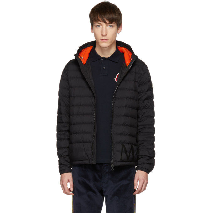 Photo: Moncler Black Down Dreux Jacket