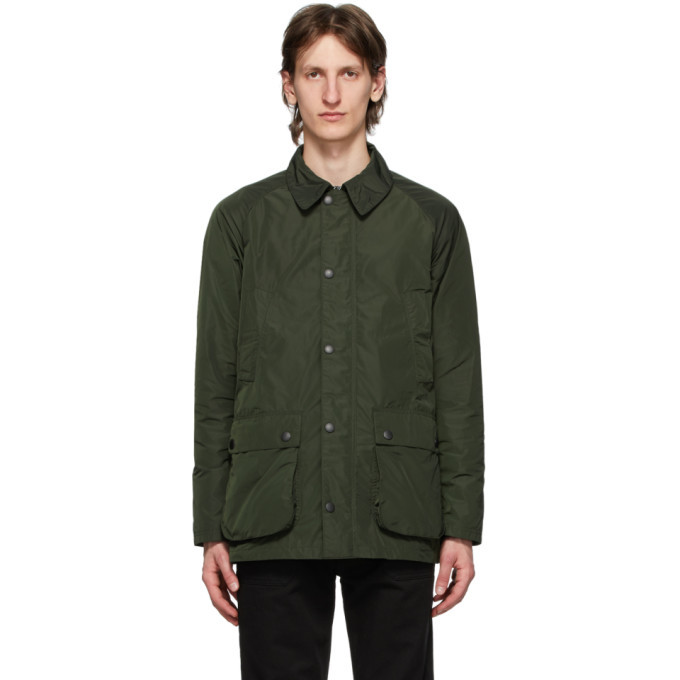 Photo: Barbour Green Bedale Tech Casual Jacket