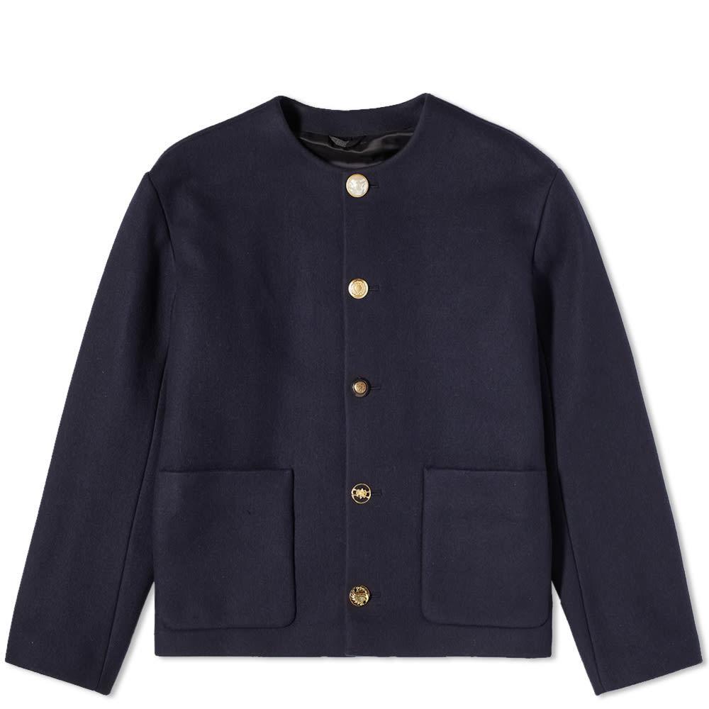 Photo: 4SDesigns Mixed Button Cardigan Coat