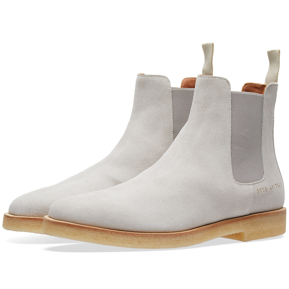 Photo: Woman by Common Projects Chelsea Boot