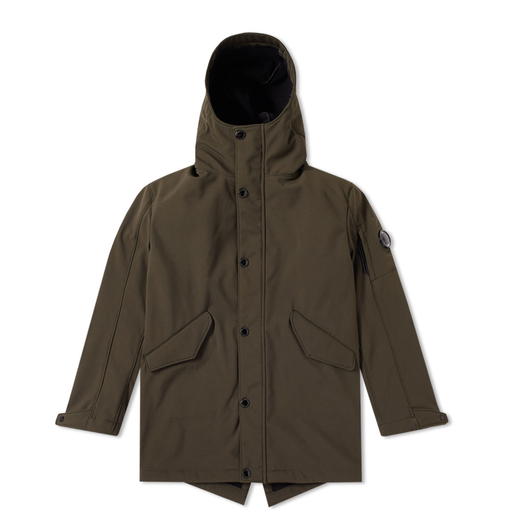 C.P. Company Undersixteen Soft Shell Long Jacket