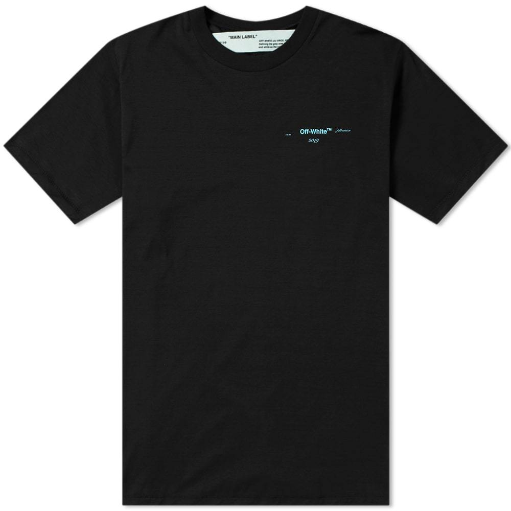 Photo: Off-White Gradient Slim Tee