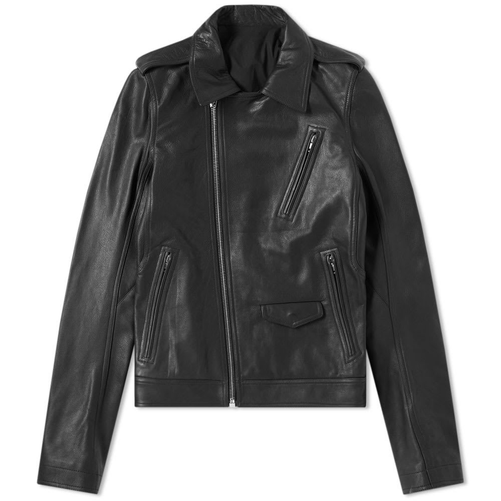 Photo: Rick Owens Rotterdam Leather Jacket Black