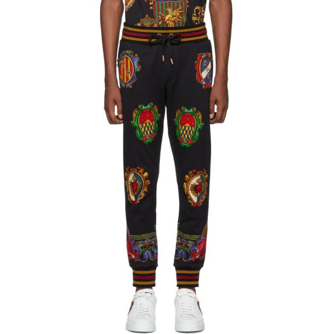 Photo: Dolce and Gabbana Black Stemmi Lounge Pants