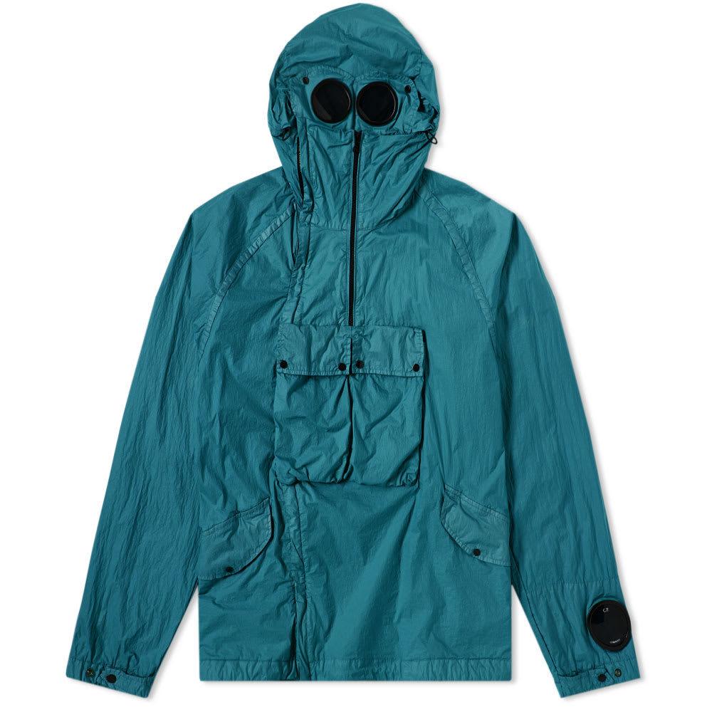 C.P. Company Nyfoil Pullover Goggle Parka Green