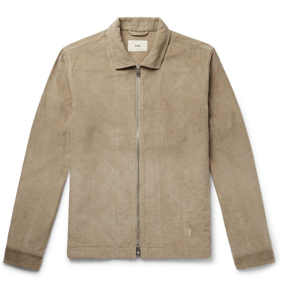 Photo: Folk - Signal Cotton-Corduroy Jacket - Beige