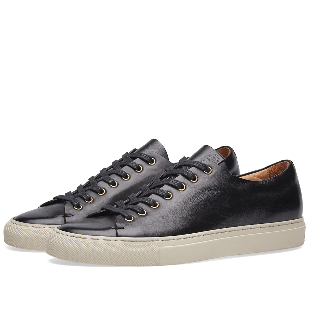 Photo: Buttero Lined Tanino Low Sneaker Black