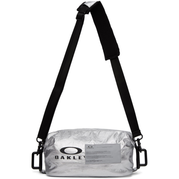 Photo: Oakley by Samuel Ross Silver Utility Messenger Bag