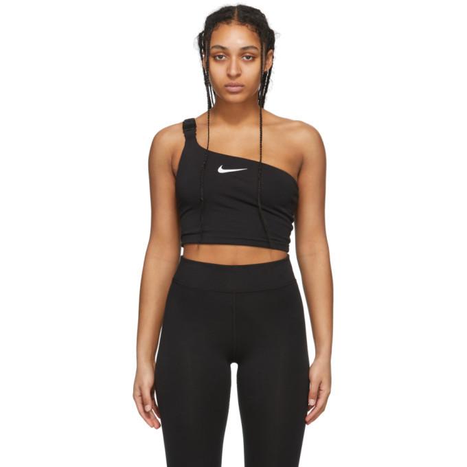 Photo: Nike Black Sportswear Swoosh Tank Top