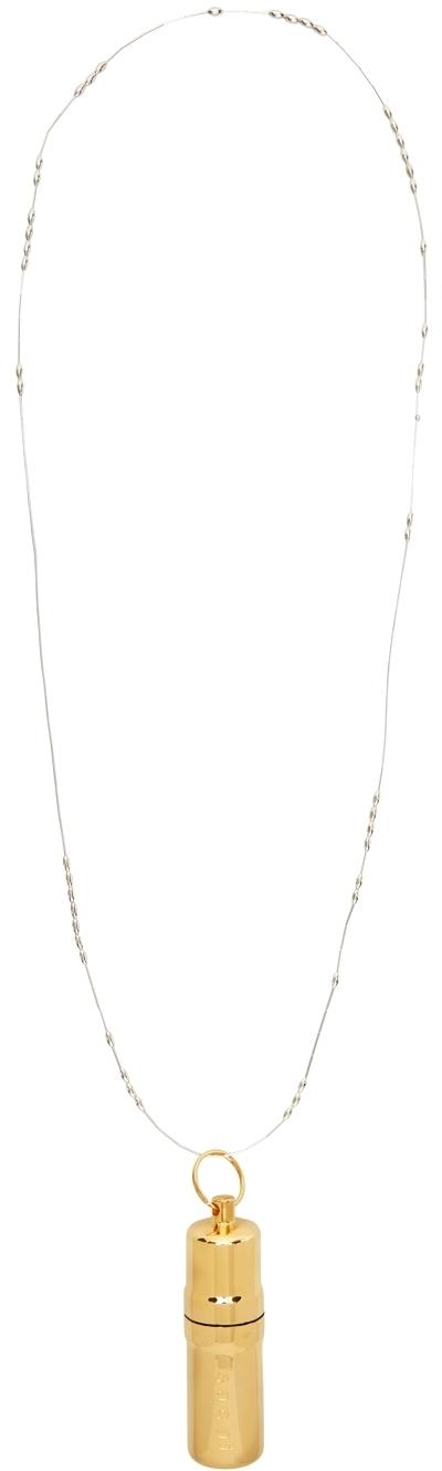 Sacai Case Strap Necklace