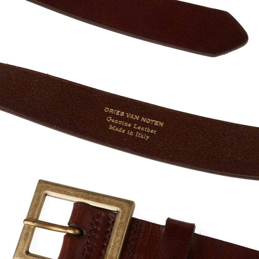 Photo: Dries Van Noten Classic Leather Belt Cognac