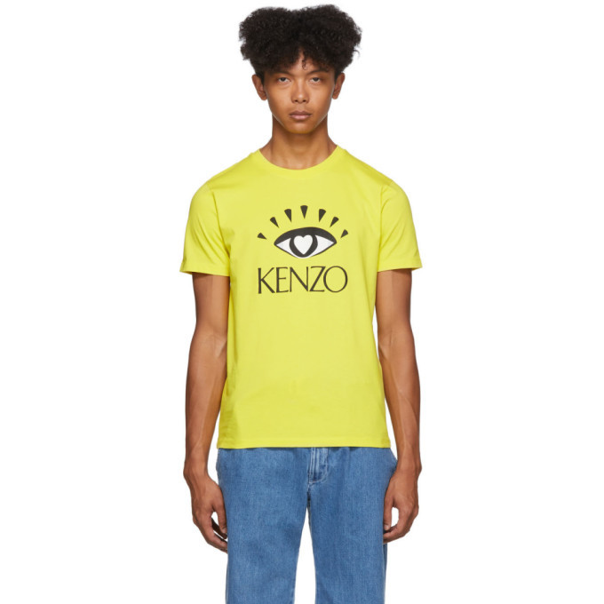 Photo: Kenzo Yellow Limited Edition Cupid T-Shirt